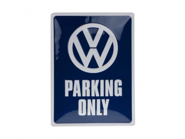 Skylt VW PARKING ONLY